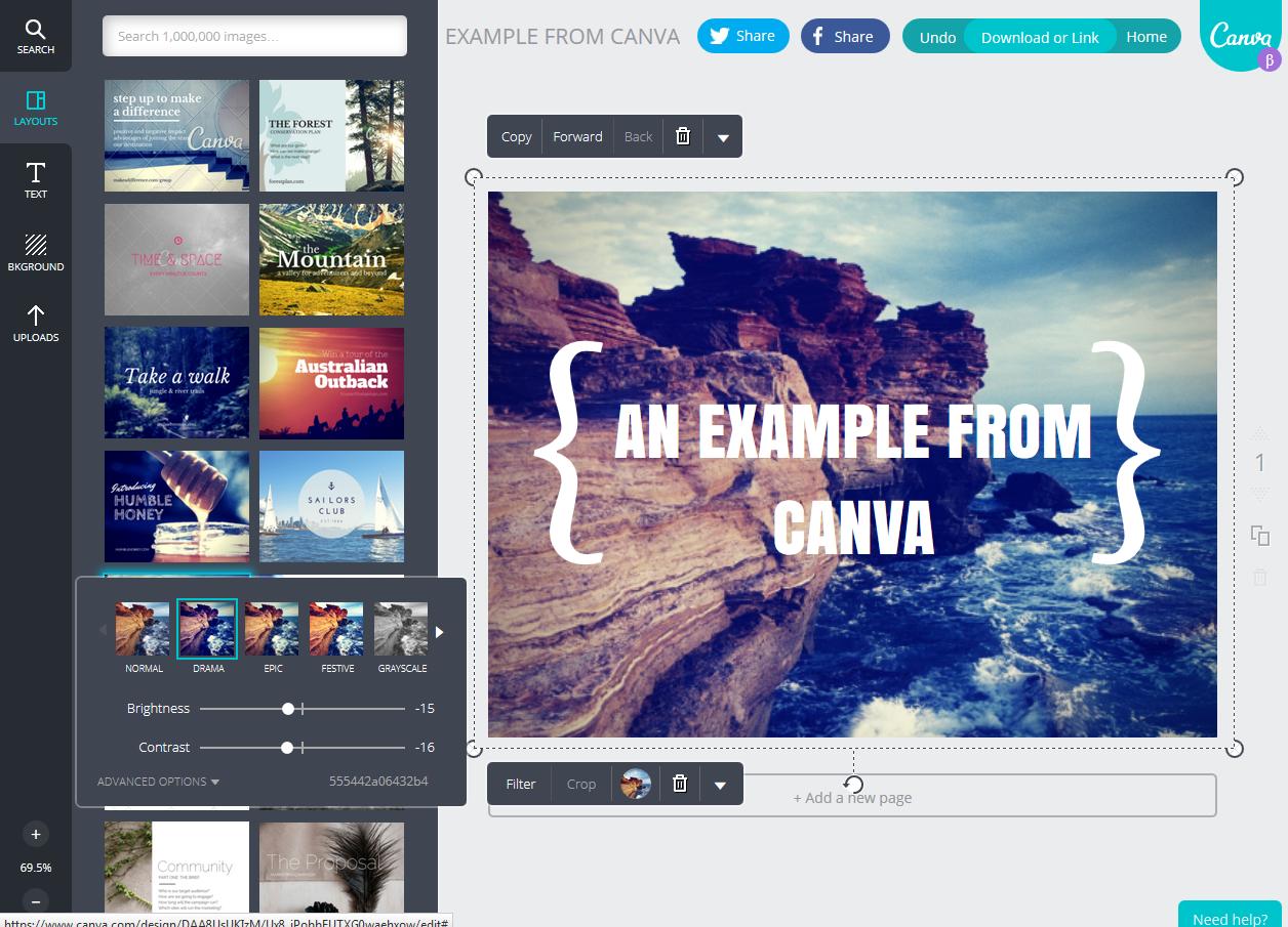 Canva,<br /> realizzare grafiche professionali in modo semplice e gratuito