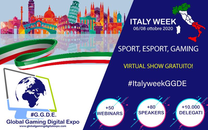 Italy Week: al via il primo expo virtuale dedicato al gaming in Italia