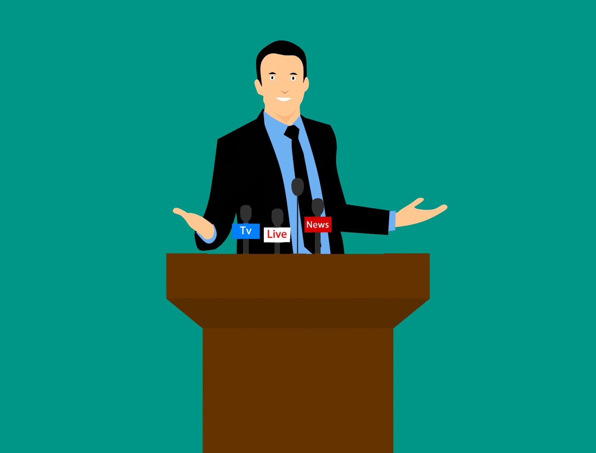 Public speaking,<br /> le regole per imparare l'arte di parlare in pubblico